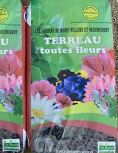 """Terreau Toutes Fleurs """"Les..."""
